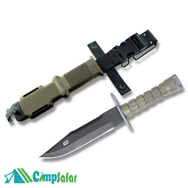 سر نیزه آمریکاییOntario M۹ با غلاف