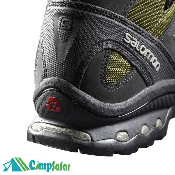 کفش کوهنوردی سالامون Quest 4D 2 GTX سبز از پاشنه