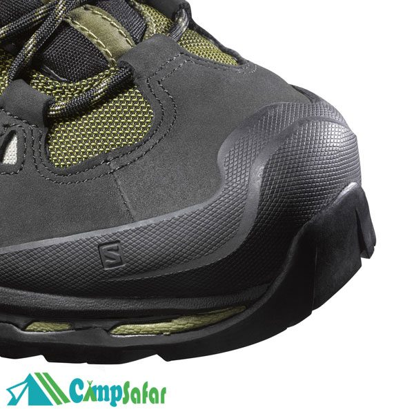 کفش کوهنوردی سالامون Quest 4D 2 GTX سبز از رو به رو