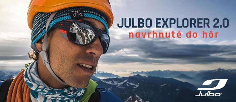 تبلیغ عینک کوهنوردی Julbo Explorer