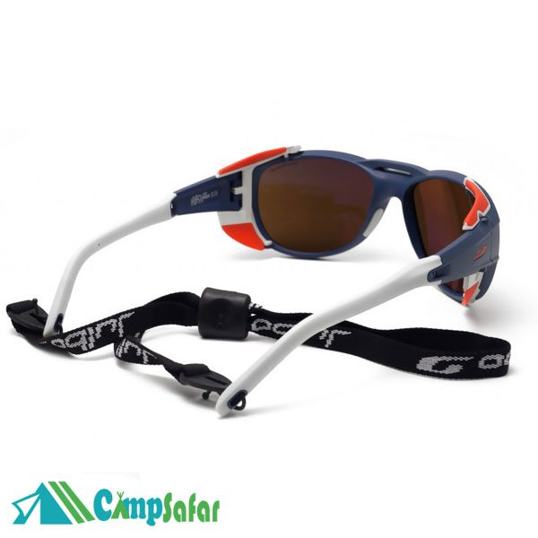 عینک کوهنوردی Julbo Explorer آبی به همراه بند