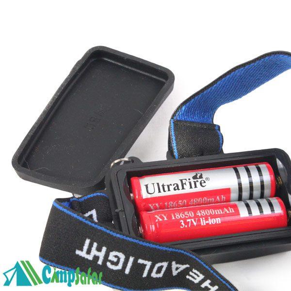 باتری های شارژی چراغ پیشانی polas