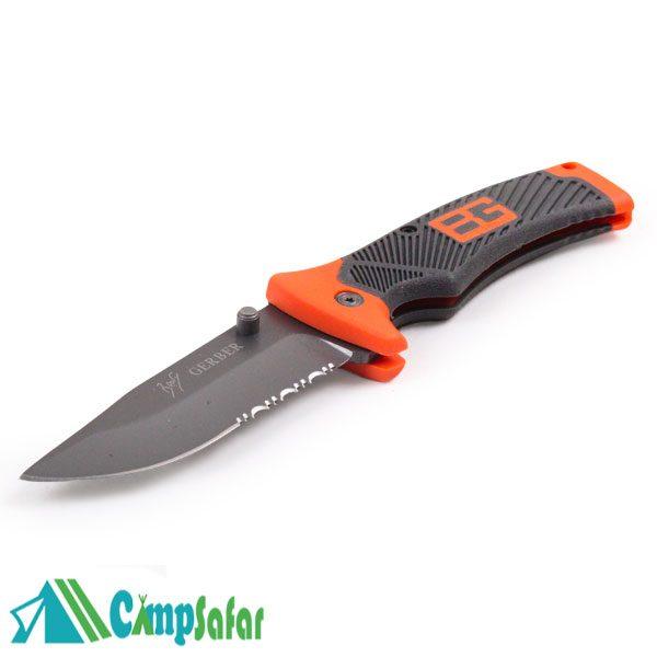 چاقو جیبی گربر Bear Grylls 31 قفل دار