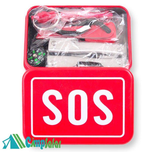 جعبه بقا کمپینگ SOS کوهنوردی