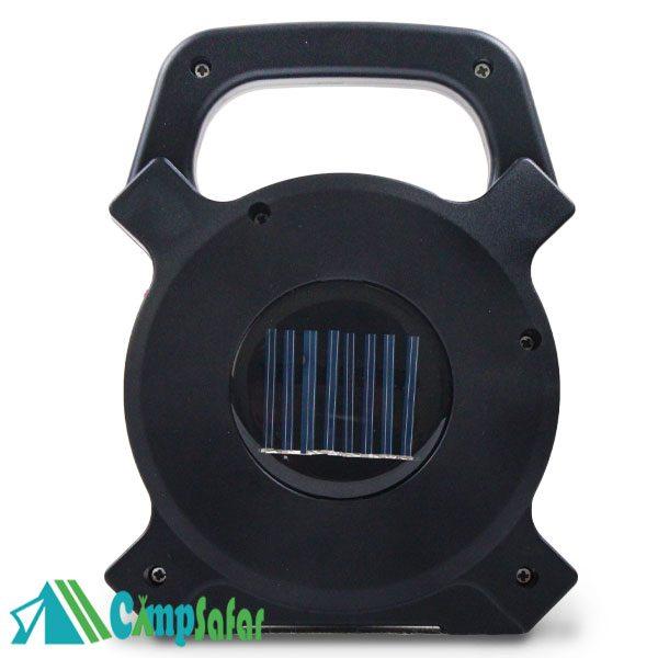 چراغ قوه شارژی خورشیدی COB