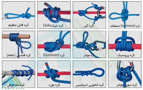 گره Slide/Grip یا اسلاید کوهنوردی