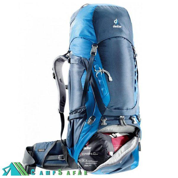 کوله پشتی کوهنوردی دیوتر Aircontact 55+10