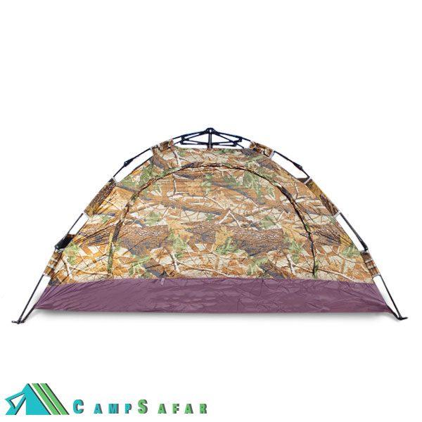 چادر کوهنوردی اتومات دو نفره مدل Camo چتری