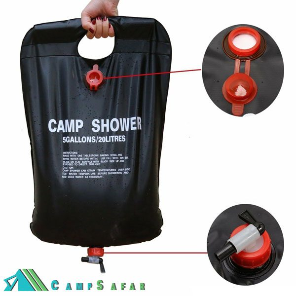 دوش صحرایی Camp Shower کمپینگ