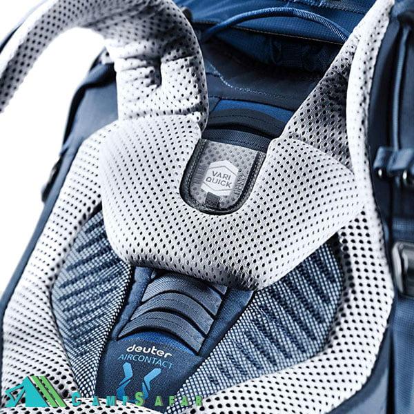 کوله پشتی کوهنوردی دیوتر مدل Aircontact 55+10