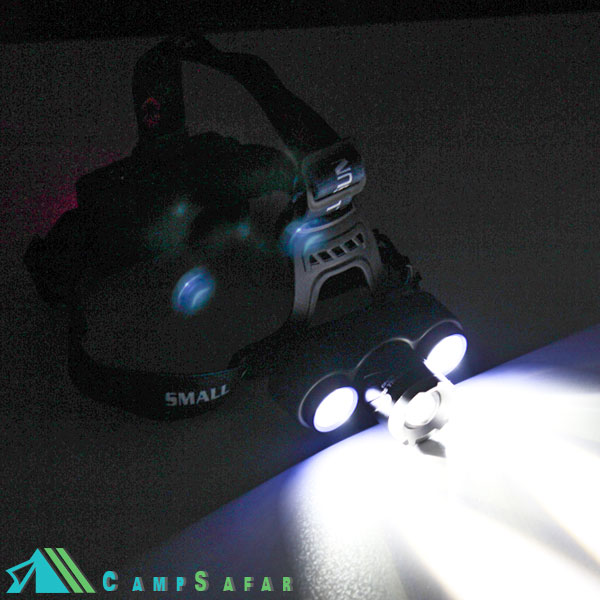 چراغ پیشانی 3 لامپ Small Sun هدلامپ