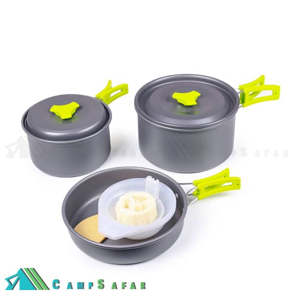 ظروف غذاخوری کوهنوردی Cooking Set مدل DS300