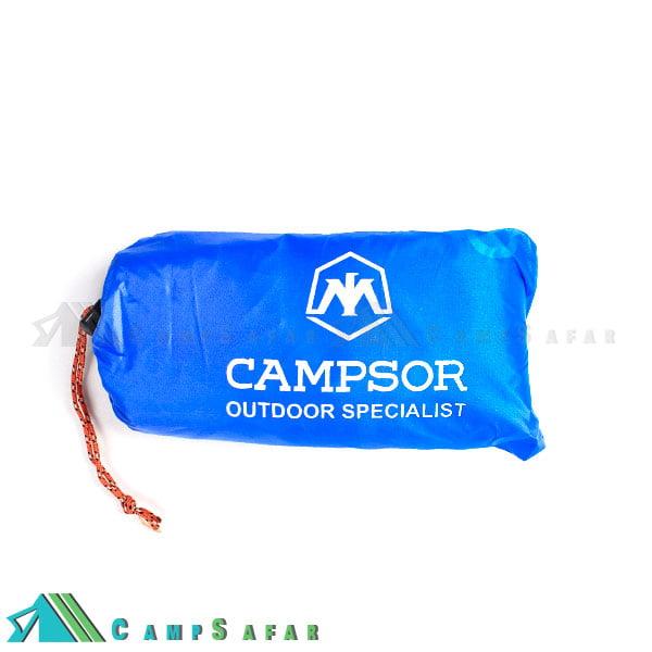 پانچو کوهنوردی کمپسور مدل زیراندازشو
