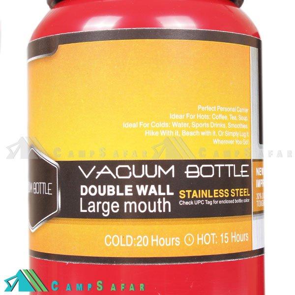 فلاسک کوهنوردی جیاکانگ مدل Vacuum Bottle 800ML