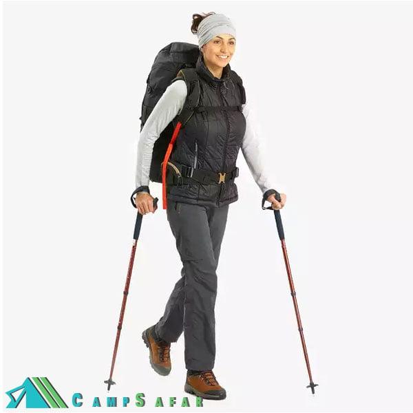 شلوار زنانه کوهنوردی کچوا مدل Forclaz 100