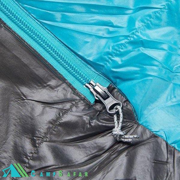 کیسه خواب کوهنوردی اسنوهاوک مدل Zagros 600 فیروزه ای