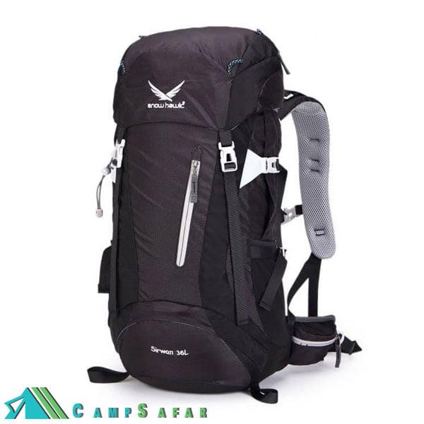 کوله پشتی کوهنوردی اسنوهاوک Sirwan 36L مشکی