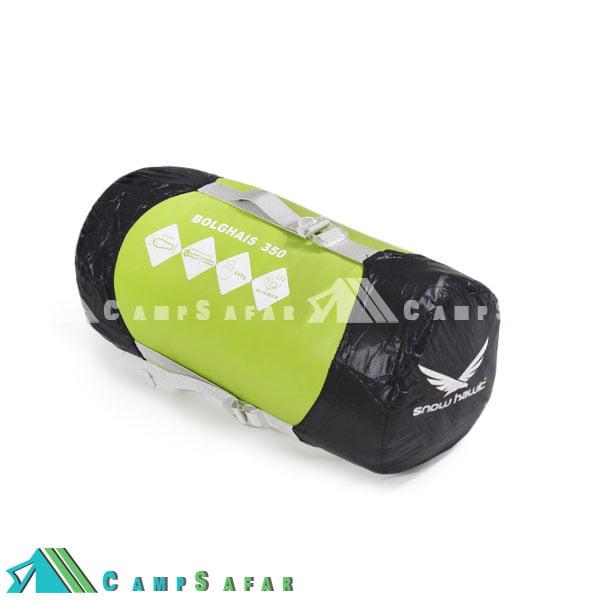 کیسه خواب کوهنوردی اسنوهاوک مدل Bolghais 350 سبز
